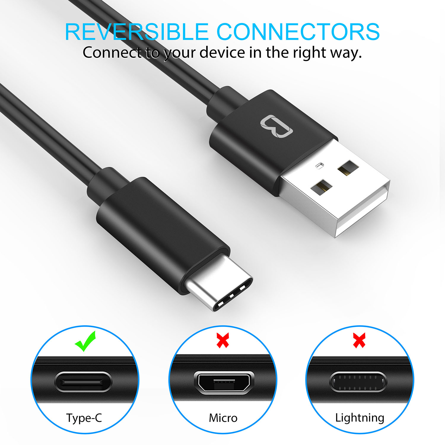 Usb C Cablebeikell 3 Pack 33ft 1m Type Cable To 20 Nexus Smart Switch Wiring High Speed Charging Data Transfer For Samsung Galaxy S8 Nintendo Switchnexus 5x 6phtc 10 U11oneplus 2 3thuawei